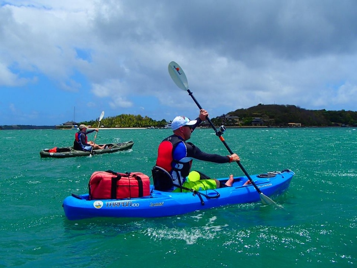 Leaving on a jet plane – off season kayaking holiday options 1