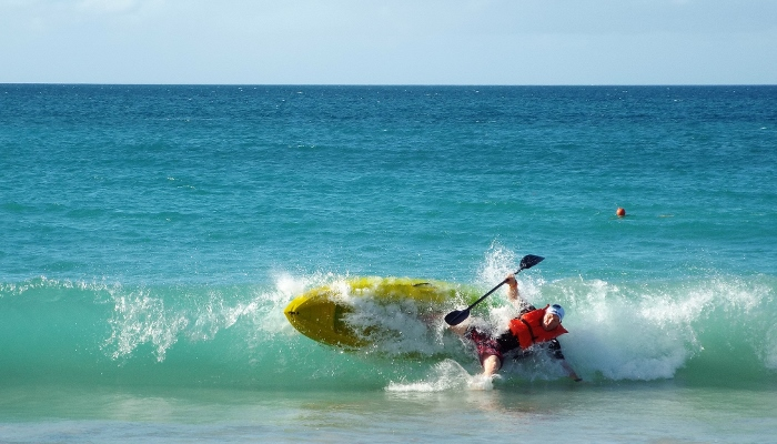 Winter sit on top kayaking holiday destinations 1