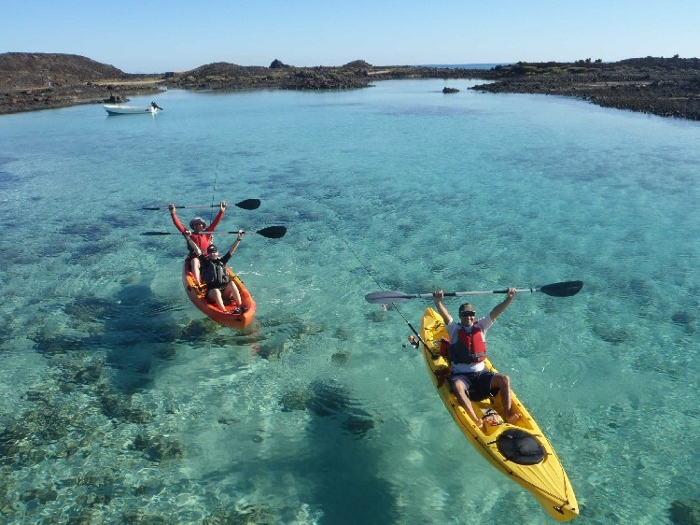 Winter sit on top kayaking holiday destinations 4