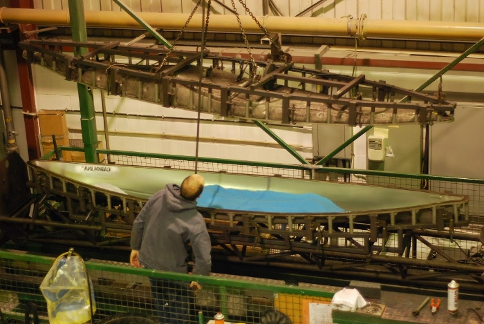 How siton top kayaks are made (part two) - factory visit 6