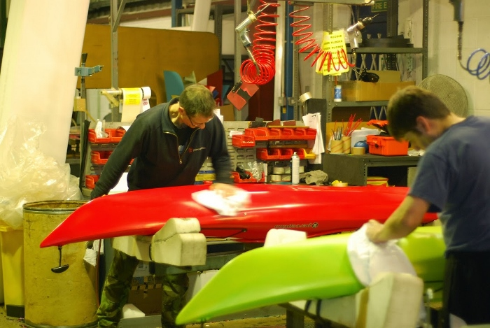 How siton top kayaks are made (part two) - factory visit 5