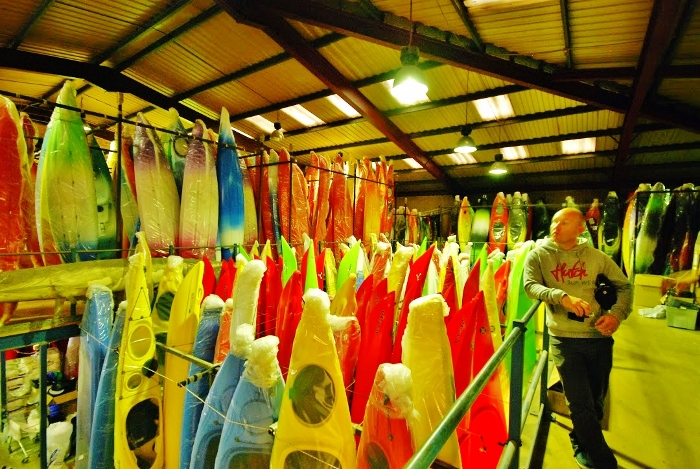 How siton top kayaks are made (part two) - factory visit 3