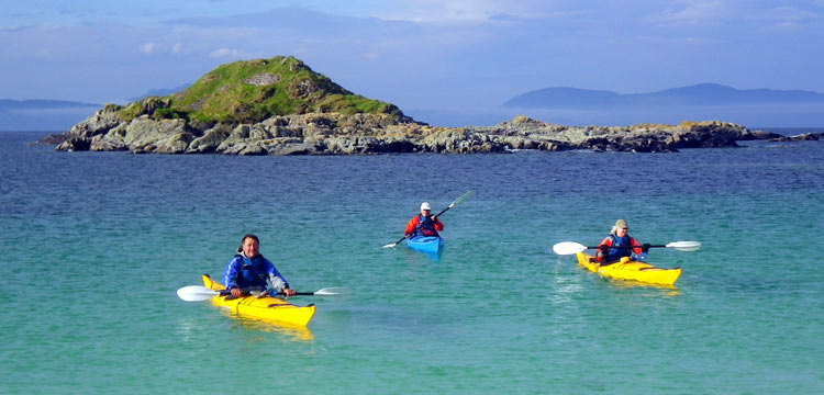 Six Great Scottish locations to paddle your sit on top kayak 1