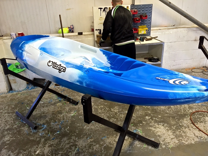 How siton top kayaks are made (part two) - factory visit 8