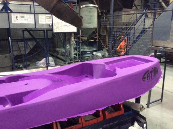 How siton top kayaks are made (part two) - factory visit 13