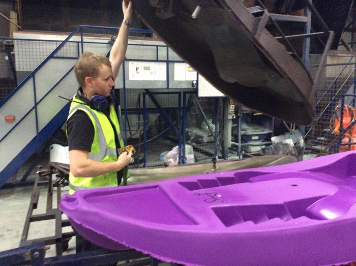 How siton top kayaks are made (part two) - factory visit 12