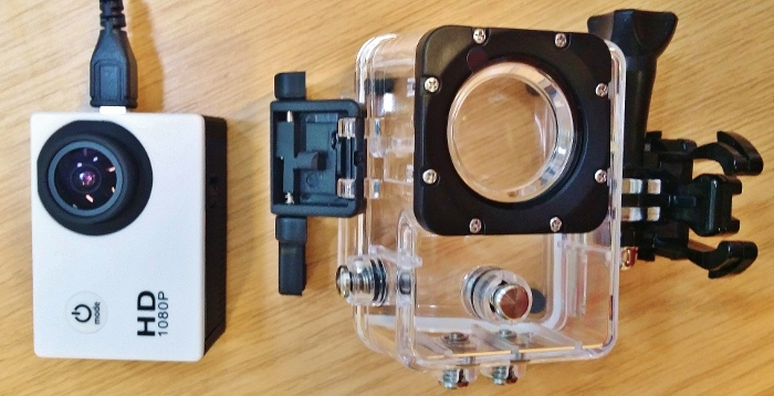 Action selfie time! POV action camera and mounting options 22