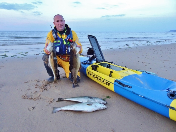 Casting lines - an intro to kayak fishing 1