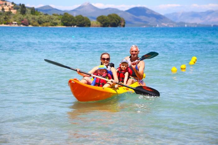 Idyllic kayaking - Greek style! 2