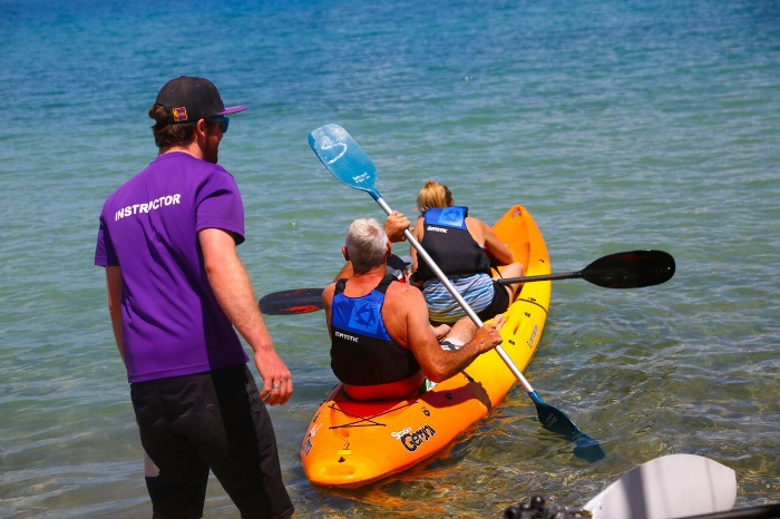 Idyllic kayaking - Greek style! 4