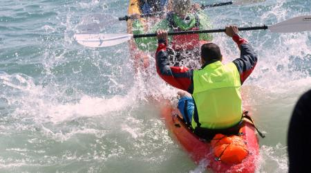 Round Hayling Island Kayak Event 2016 2