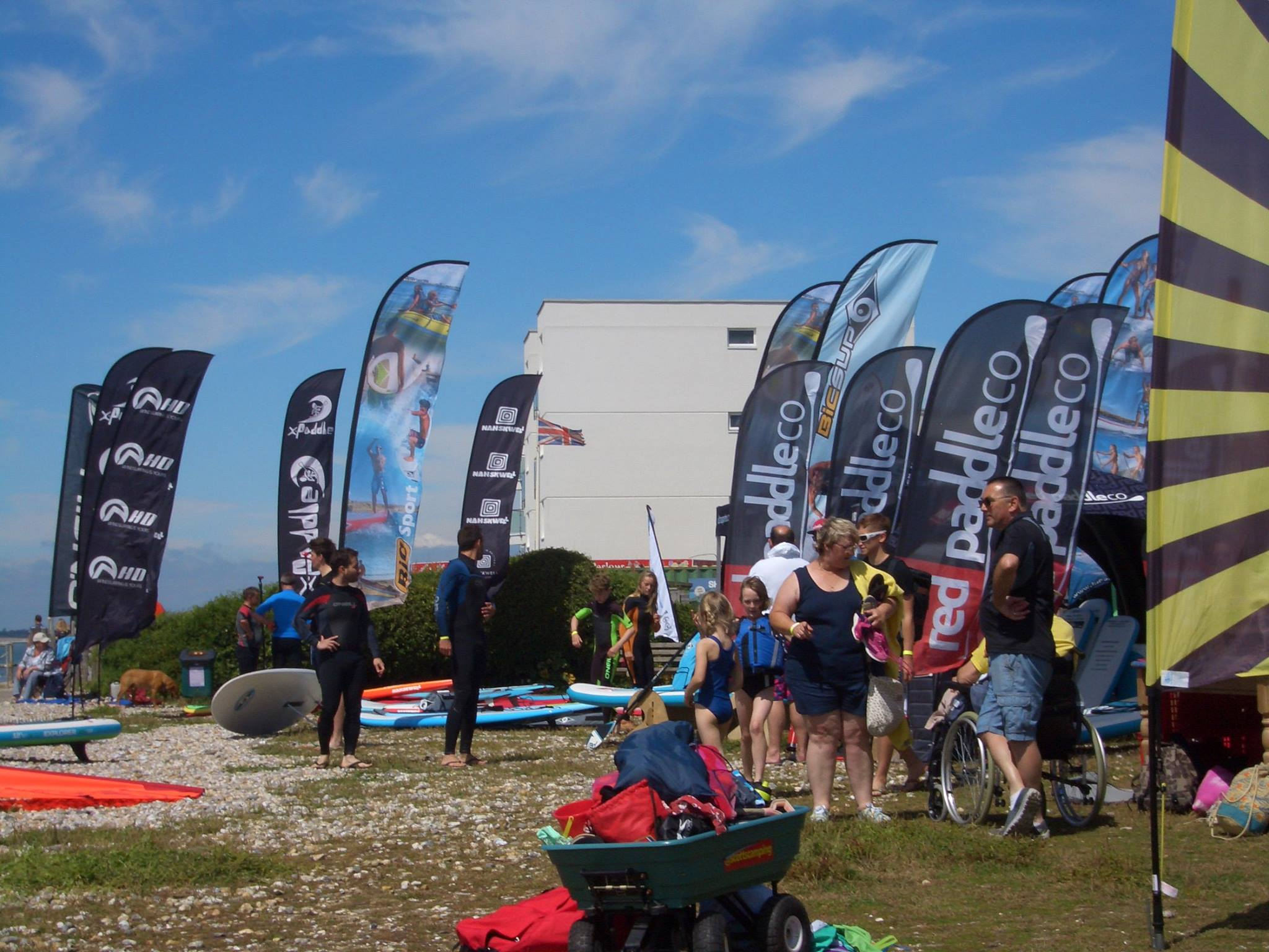 Sun, sea, sand and sit on tops - Shore Watersports Paddlesports Weekend 6