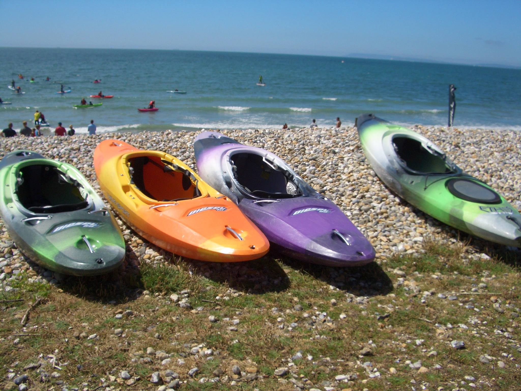 Sun, sea, sand and sit on tops - Shore Watersports Paddlesports Weekend 8