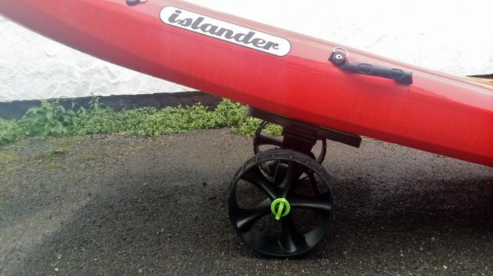 Load up! Sit on kayak trolley loading tips 7