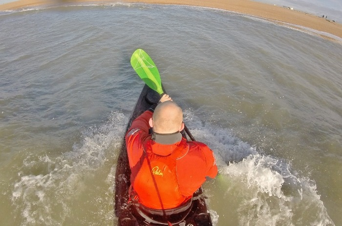 Puffing along – downwinding for sit on top kayakers 7