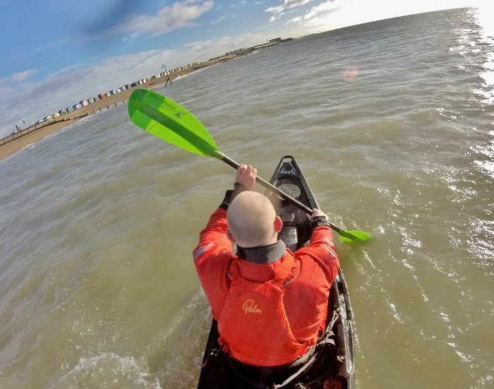 Puffing along – downwinding for sit on top kayakers 8